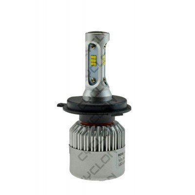 LED лампа CYCLONE H4 H/L 5000K 4500Lm FAN type 8A