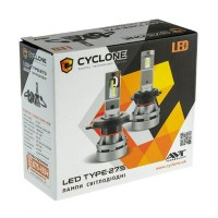 LED лампа CYCLONE H4 H/L 5000K 5100Lm CR type 27S