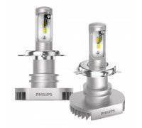 LED лампа Philips H4 LED 11342ULWX2 Ultinon +160% 6200K (2 шт)